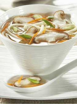 Shiitake et soupe miso recette japonaise - Recette soupe japonaise ...